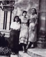 Janet Dannenberg (née Murphy) '53 with classmates.