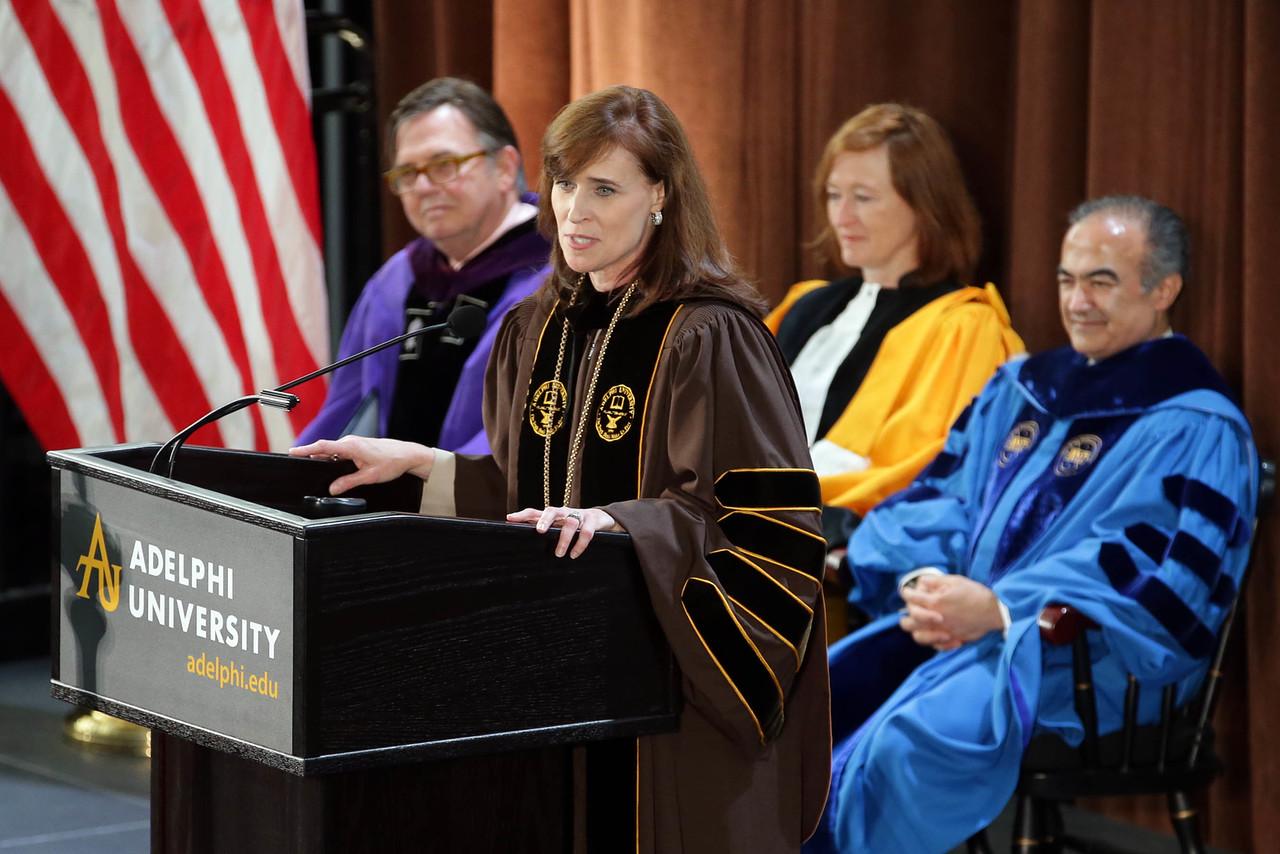 Inaugural Address By President Christine M. Riordan