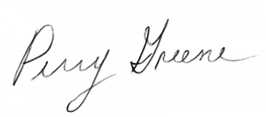 Perry Greene Signature