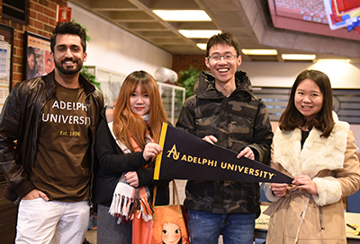 Adelphi International gives students who come to Adelphi from abroad a pathway to success