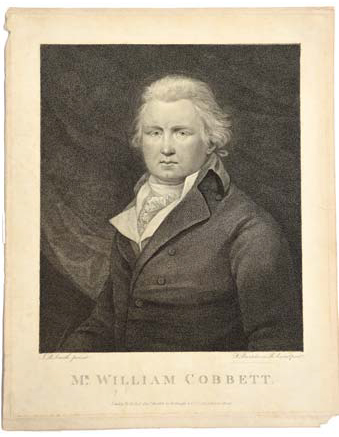 Portrait of William Cobbet.