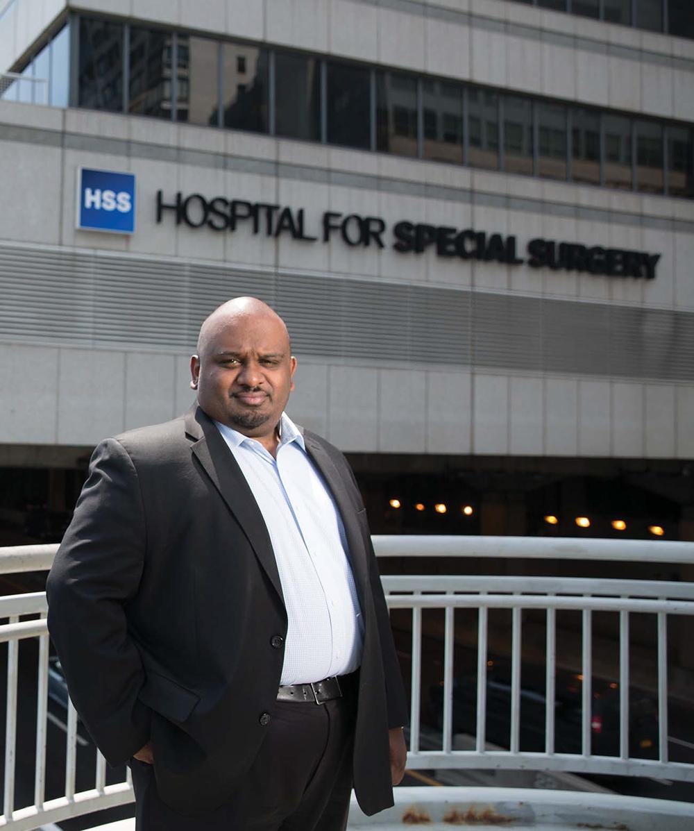 Leonard Achan, Hospital for Special Surgery