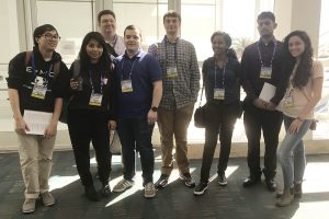 Adelphi Students at Conference