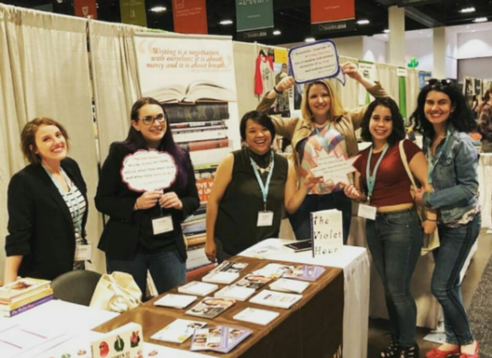 Adelphi's M.F.A. Program Makes Its Mark at National Literary Conference