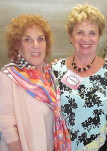 Judy Platt and Barbara at the Breast Cancer Program