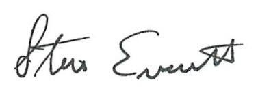 Dr. Everett Signature