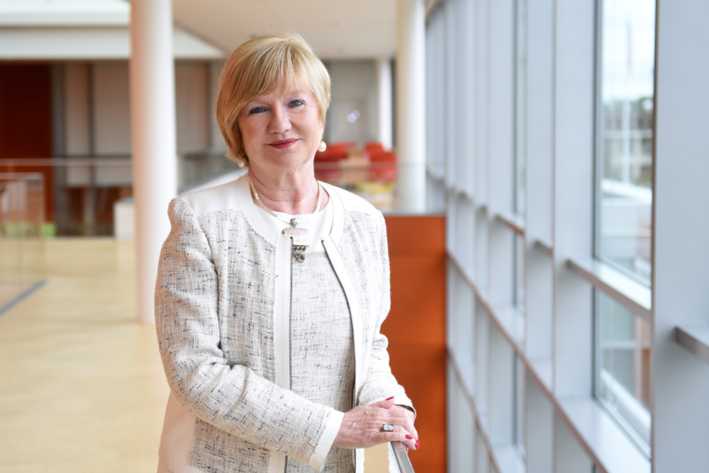 Q&A With Elaine L  Smith '78, M S  '88, Ed D , New Dean of