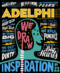 Adelphi Magazine 2019 Cover