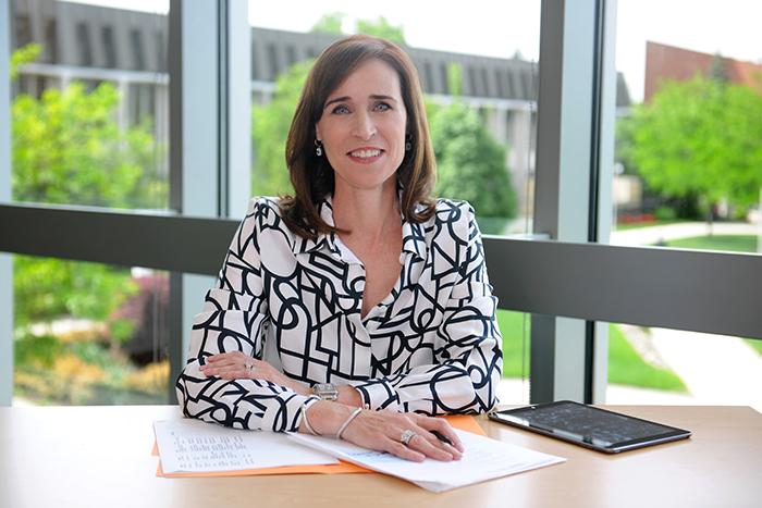 President Christine Riordan