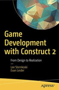 The cover of Game development with Construct 2
