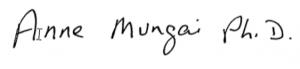 mungai signature
