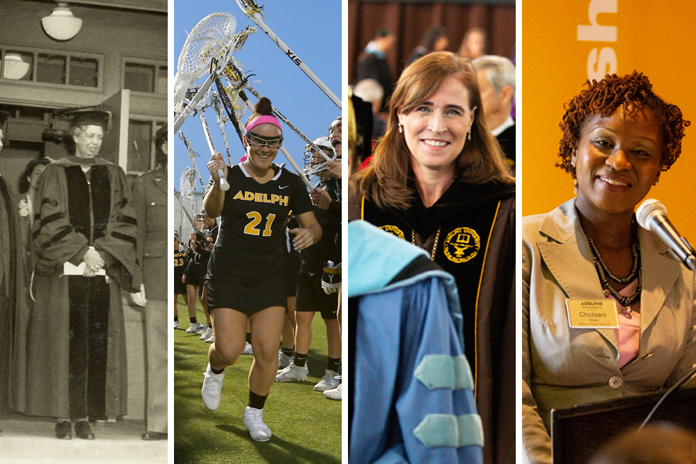 143dc63b For Women's History Month, We Celebrate Adelphi's Notable Women and How  We've Advanced Women's Education