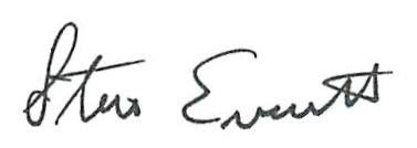 Dr. Everett Signature