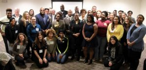 A group of faculty, staff and students that make up the mentoring program.