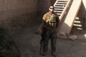 Gabriel Buitrago in Afghanistan