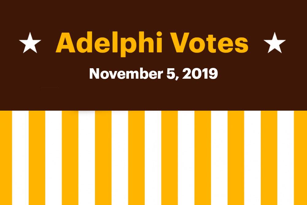 Adelphi Votes: November 5, 2019